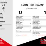 2003-2004 J23 Lyon-Guingamp