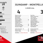 2003-2004 J28 Guingamp-Montpellier