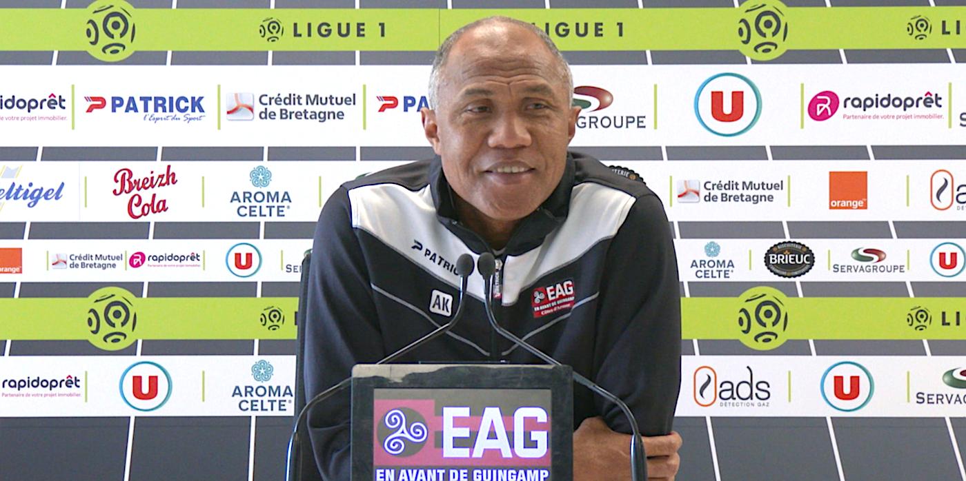 Le point-presse d'Antoine Kombouaré avant le Celtico