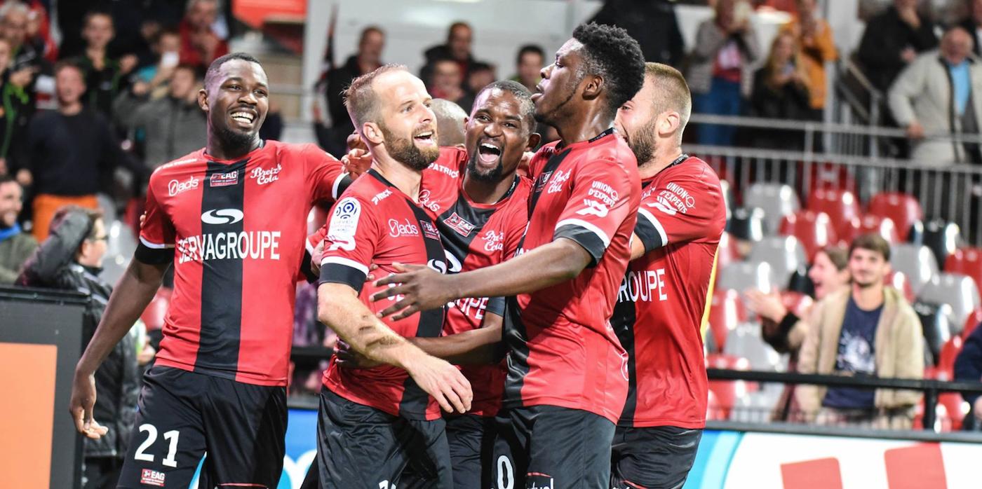 L1 - J6 : EA Guingamp - Lille OSC (1-0)