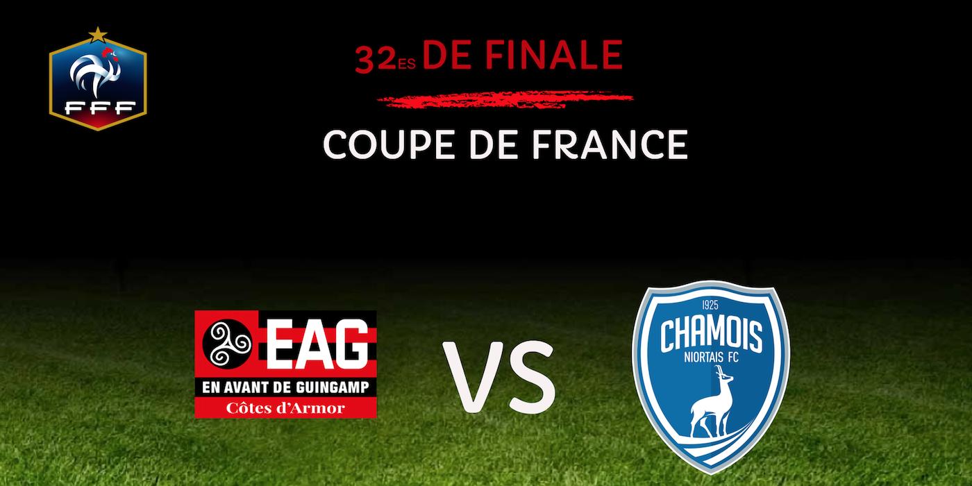 Cdf 32e guingamp recevra niort en avant de guingamp - Tirage au sort coupe de france 32 finale ...