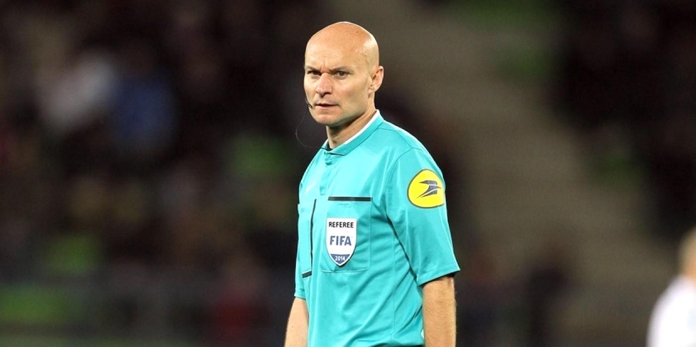 Tony Chapron, arbitre de Guingamp-Rennes