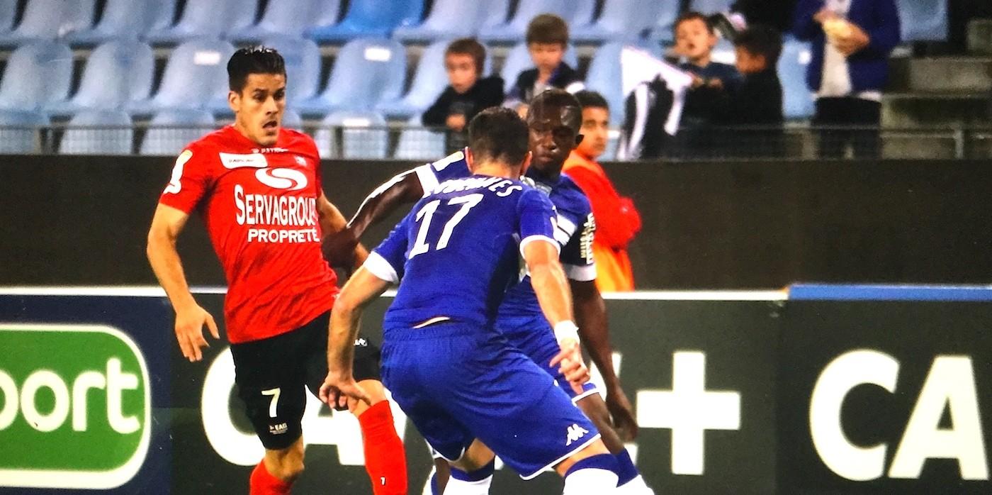 CDL : SC Bastia - EA Guingamp (1-1, 3 tab à 4)