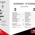 2000-01 J1 Guingamp-ST ETIENNE
