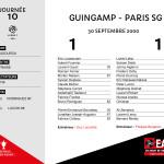 2000-01 J10 Guingamp-PSG