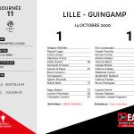 2000-01 J11 LILLE-Guingamp