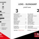 2000-01 J2 LENS-Guingamp