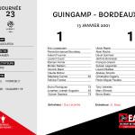 2000-01 J23 Guingamp-bordeaux