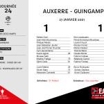 2000-01 J24 AUXERRE-Guingamp