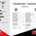 2000-01 J28  STRASBOURG-Guingamp
