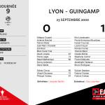 2000-01 J9  Lyon-Guingamp