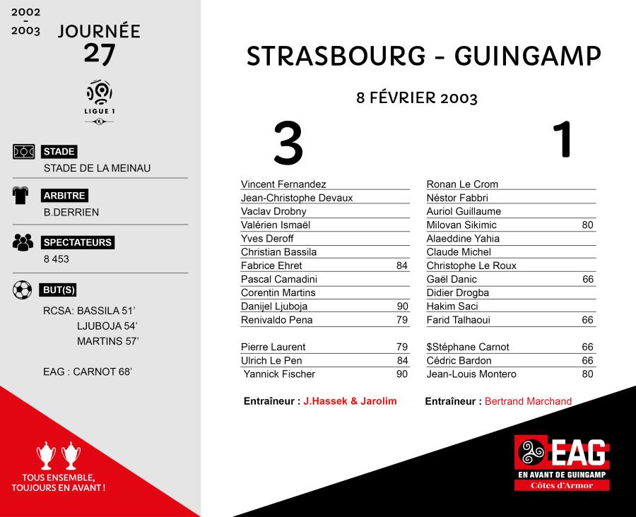 2002-03 J27 Starsbourg-Guingamp
