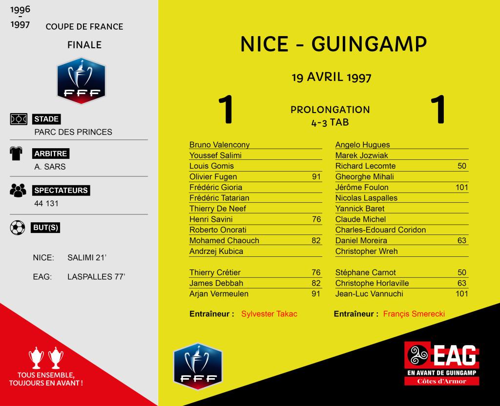 96-97 CDF finale Nice-Guingamp