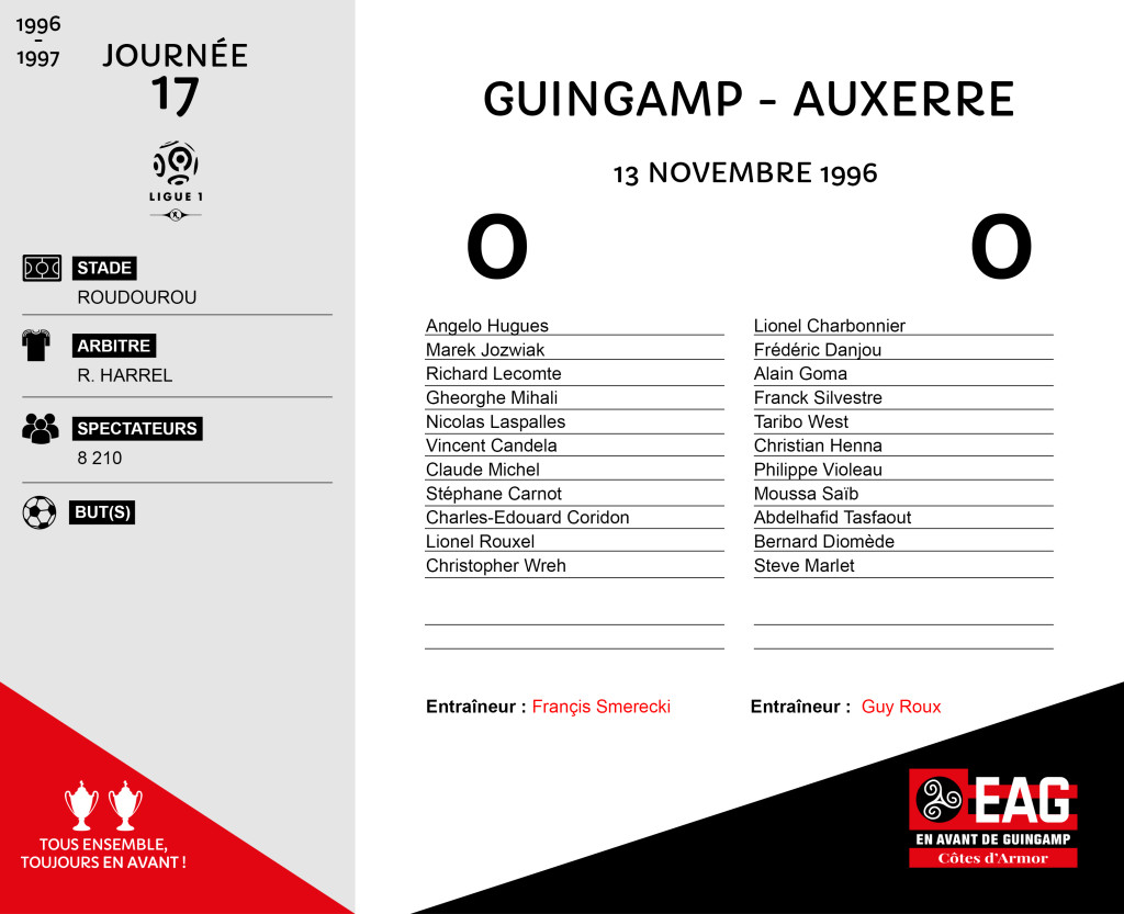 96-97 J17 Guingamp-Auxerre