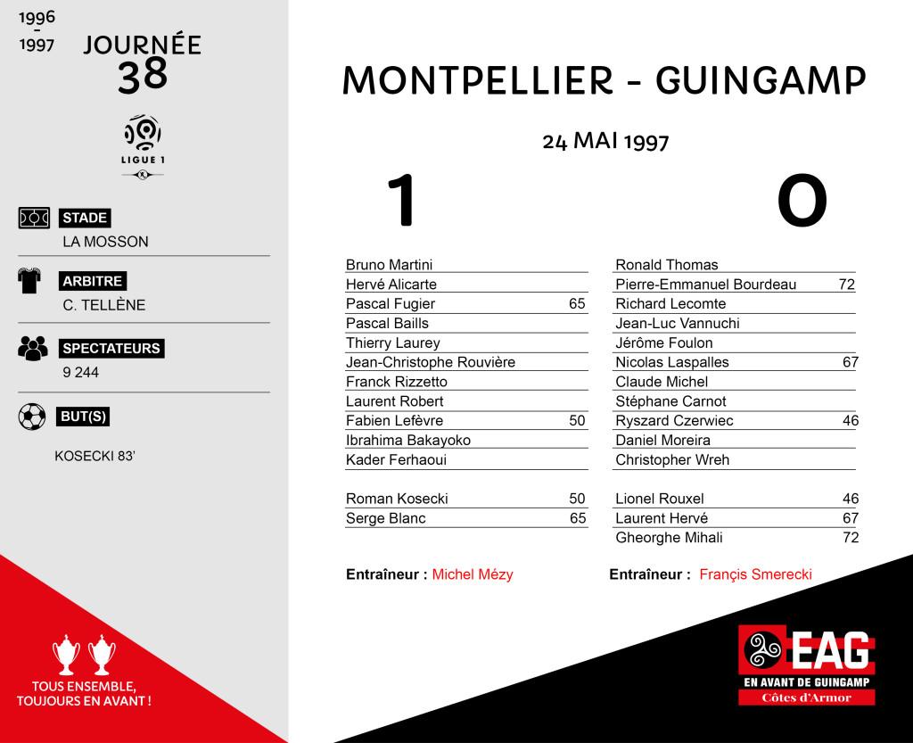 96-97 J38 Montpellier-Guingamp