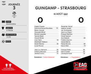 97-98J03 Guingamp-Strasbourg