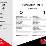 97-98J31 Guingamp-METZ