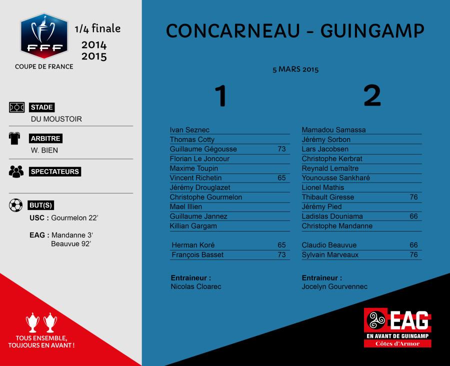 CDF 4 CONCARNEAU-EAG