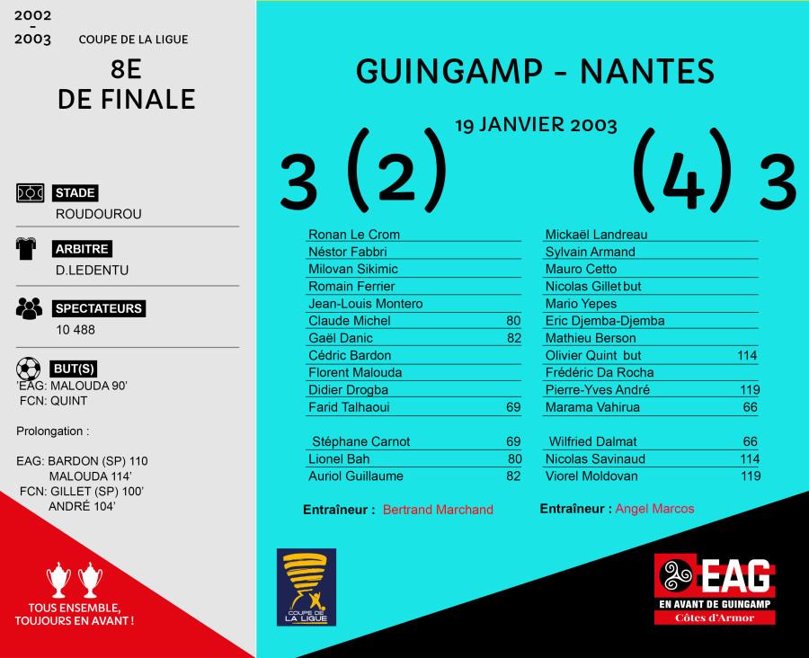 CDL 02-03 8e Guingamp-Nantes