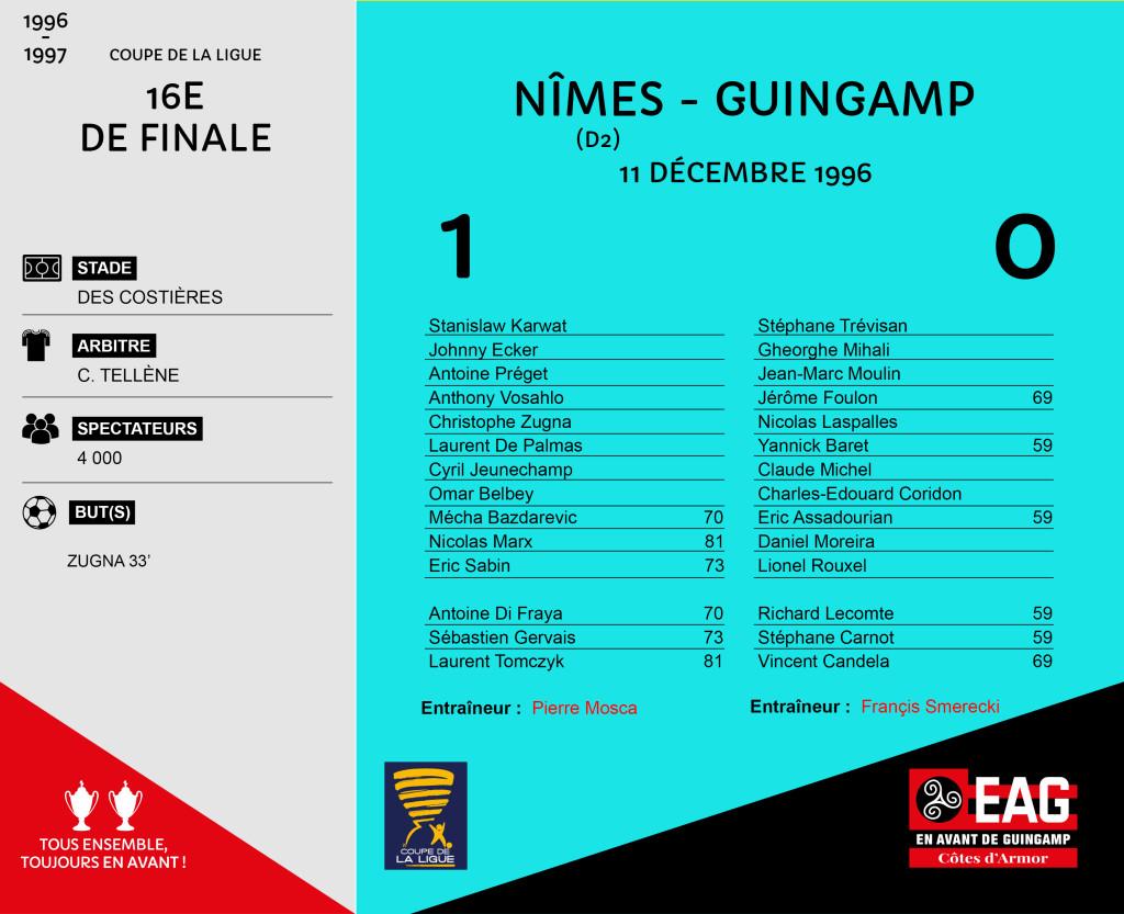 CDL 96-97 16e Nîmes-Guingamp