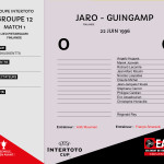 CDL 96-97 Coupe Intertoto  M1 Jaro-Guingamp