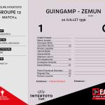 CDL 96-97 Coupe Intertoto M4 Guingamp-Zemun