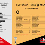 CDL 96-97 Coupe UEFA 1er tour aller Guingamp-Inter Milan