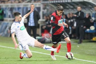FOOTBALL : 1/2 Finale Coupe de France- Auxerre vs Guingamp - 07/04/2015