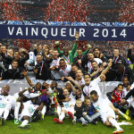 FOOTBALL : Rennes vs Guingamp - Finale Coupe de France - 03/05/2014
