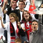 La joie des supporters