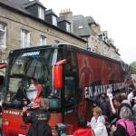 Liesse dans les rues de Guingamp