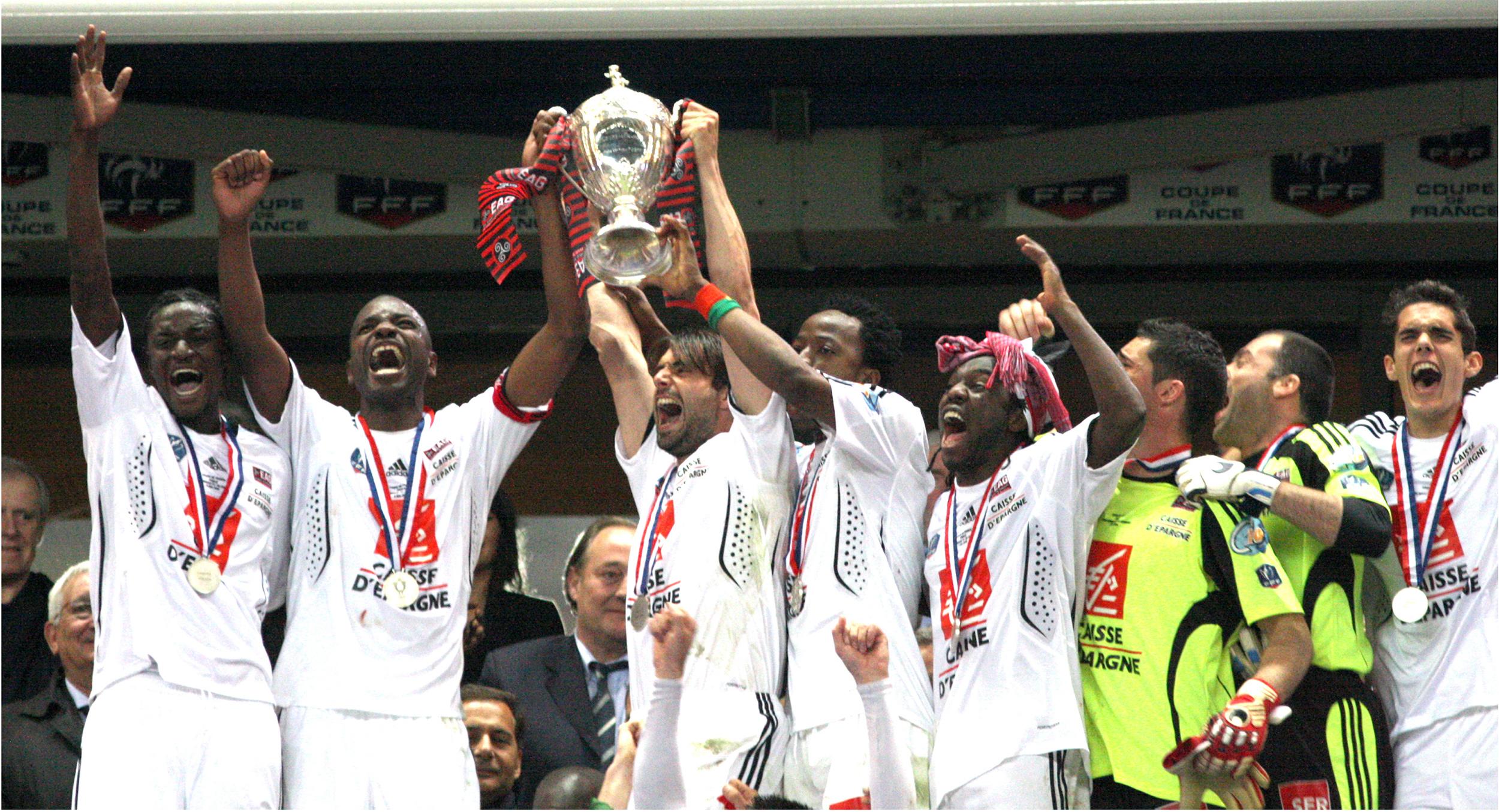2009 Vainqueur De La Coupe De France En Avant De Guingamp
