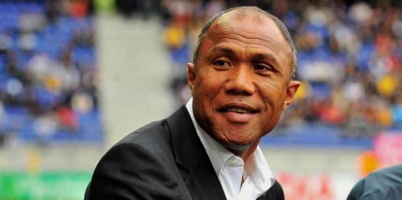Antoine Kombouaré entraîneur d'En Avant de Guingamp
