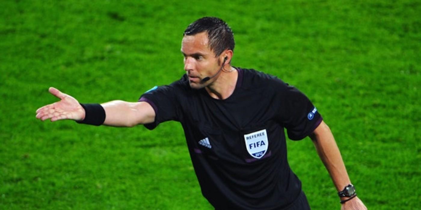 Stéphane Lannoy, arbitre de la rencontre ASSE-EAG