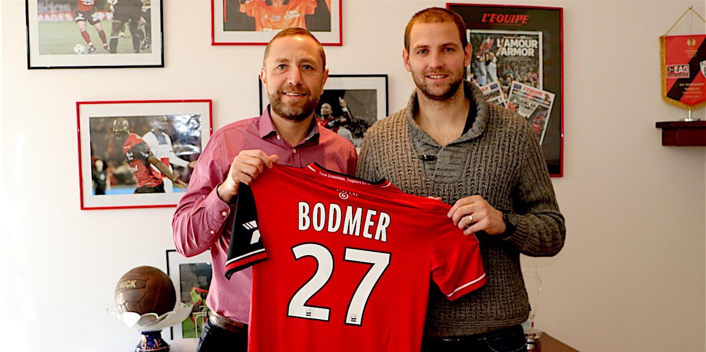 Mathieu Bodmer est Guingampais