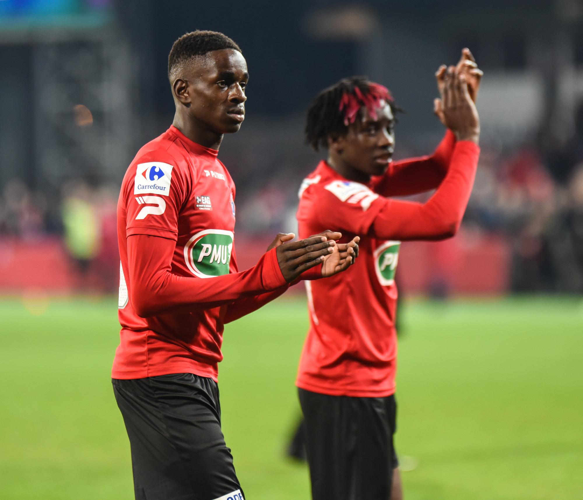Alexis Mané et Fousseni Diabaté - En Avant Guingamp