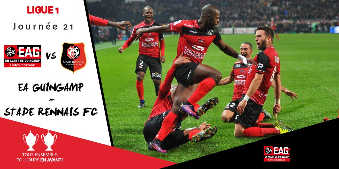 L1-J21 / EA Guingamp - Stade Rennais FC