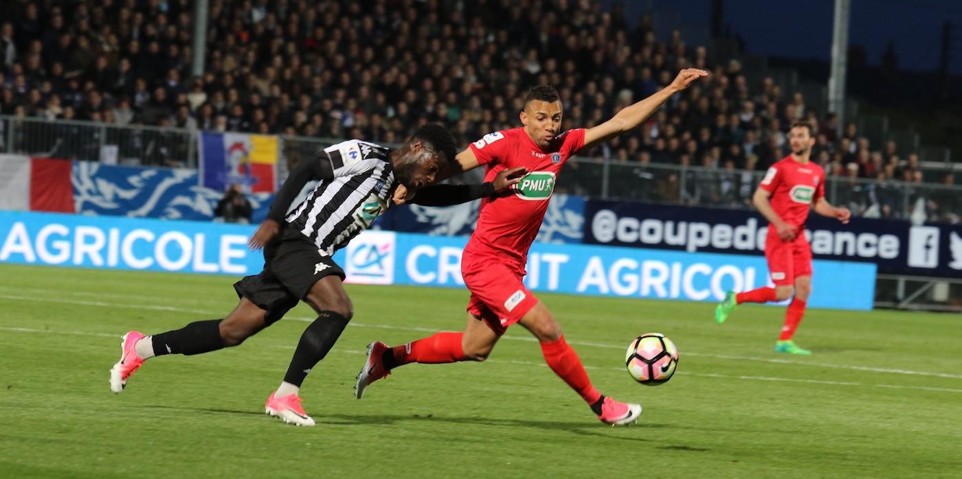 CDF 1/2 finale : SCO Angers - EA Guingamp (2-0)