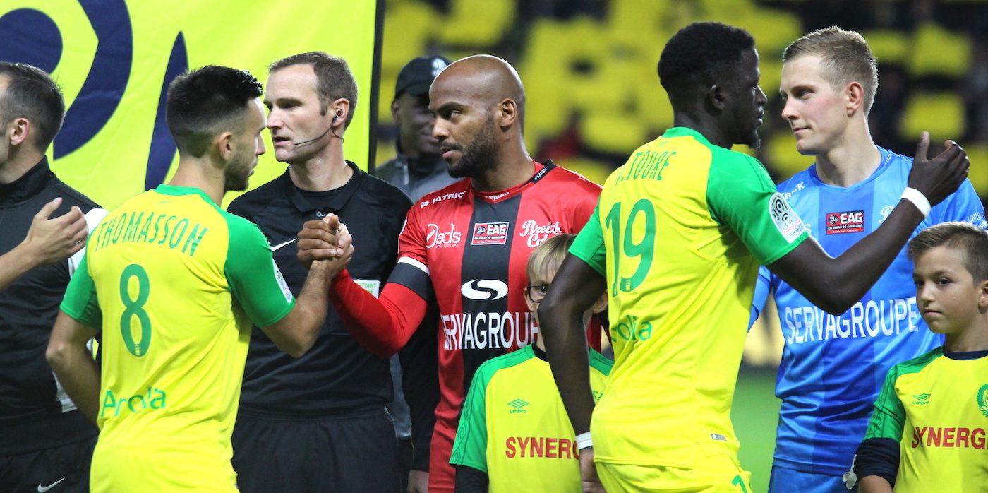 FC Nantes - EA Guingamp (2-1)