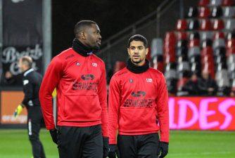 Marcus Thuram et Ludovic Blas