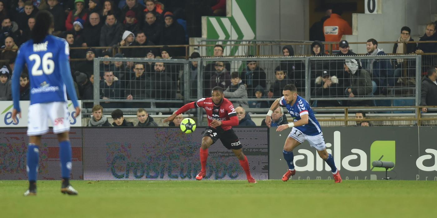 L1 CONFORAMA – J20 : RC Strasbourg – EA Guingamp (0-2) - En Avant de Guingamp