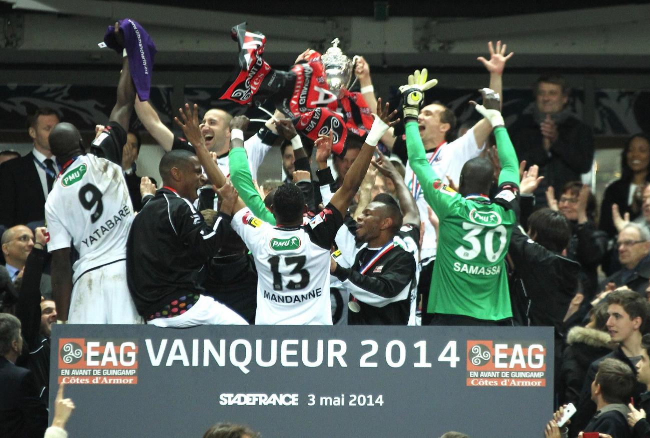 5 saisons en L1 - Episode 9 - Finale CDF EAG-Rennes (2-0) 2014 - En Avant de Guingamp
