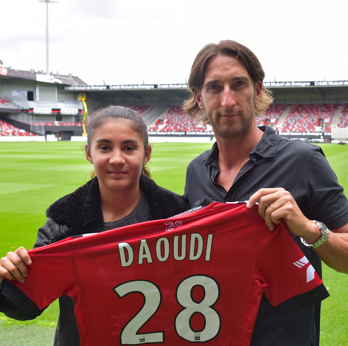 Sana Daoudi (20 ans) s'est engagée pour 1 saison - En Avant Guingamp