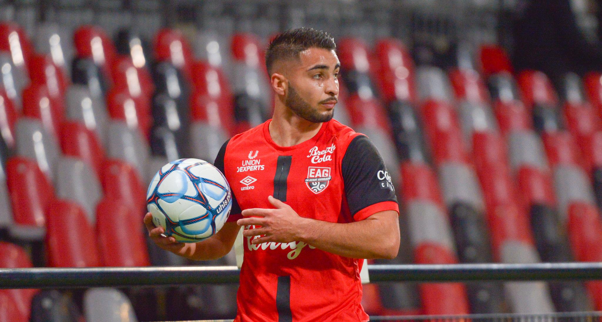 11 EA Guingamp SM Caen 2-2 Ligue 2 BKT Journée 26 2020-21 22 02 2021 EAGSMC