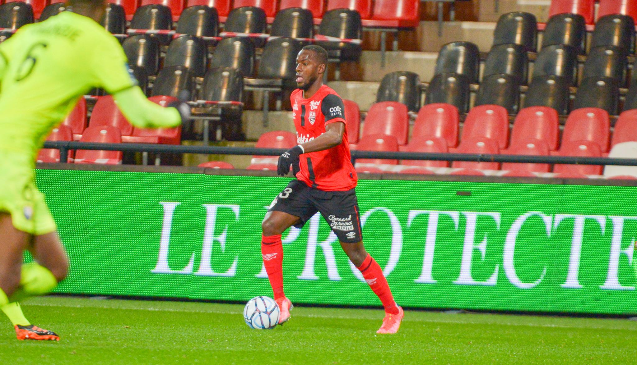 24 EA Guingamp SM Caen 2-2 Ligue 2 BKT Journée 26 2020-21 22 02 2021 EAGSMC