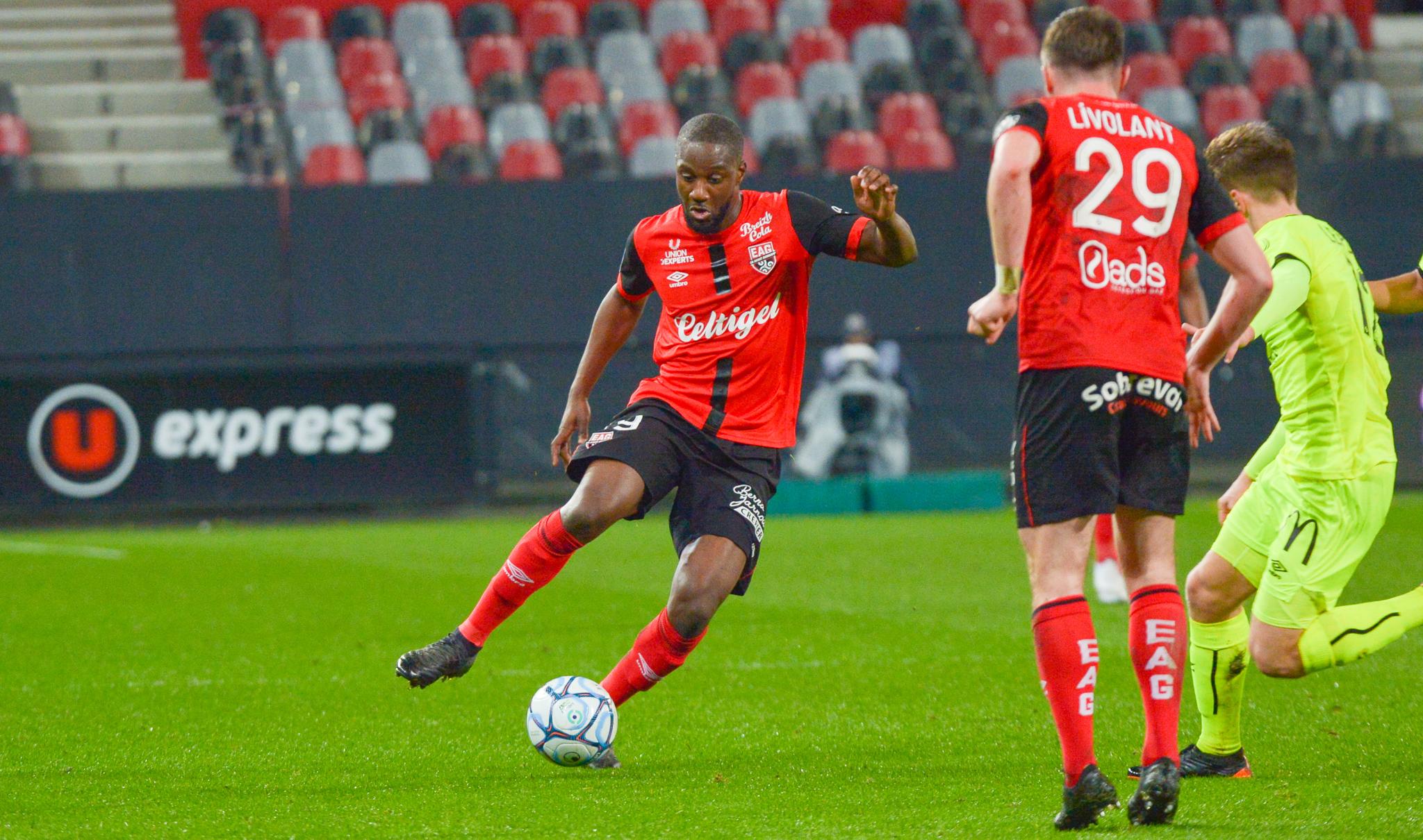 36 EA Guingamp SM Caen 2-2 Ligue 2 BKT Journée 26 2020-21 22 02 2021 EAGSMC