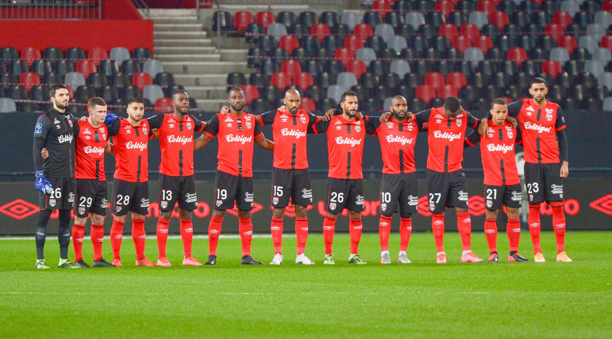 4 EA Guingamp SM Caen 2-2 Ligue 2 BKT Journée 26 2020-21 22 02 2021 EAGSMC