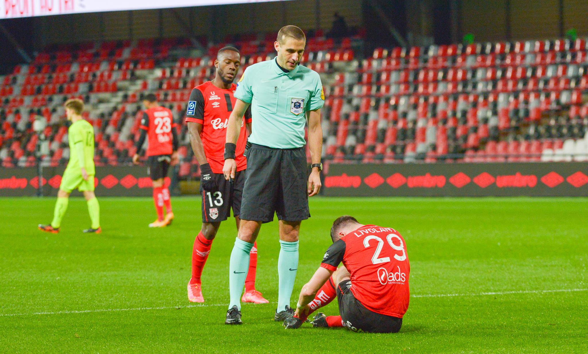 6 EA Guingamp SM Caen 2-2 Ligue 2 BKT Journée 26 2020-21 22 02 2021 EAGSMC