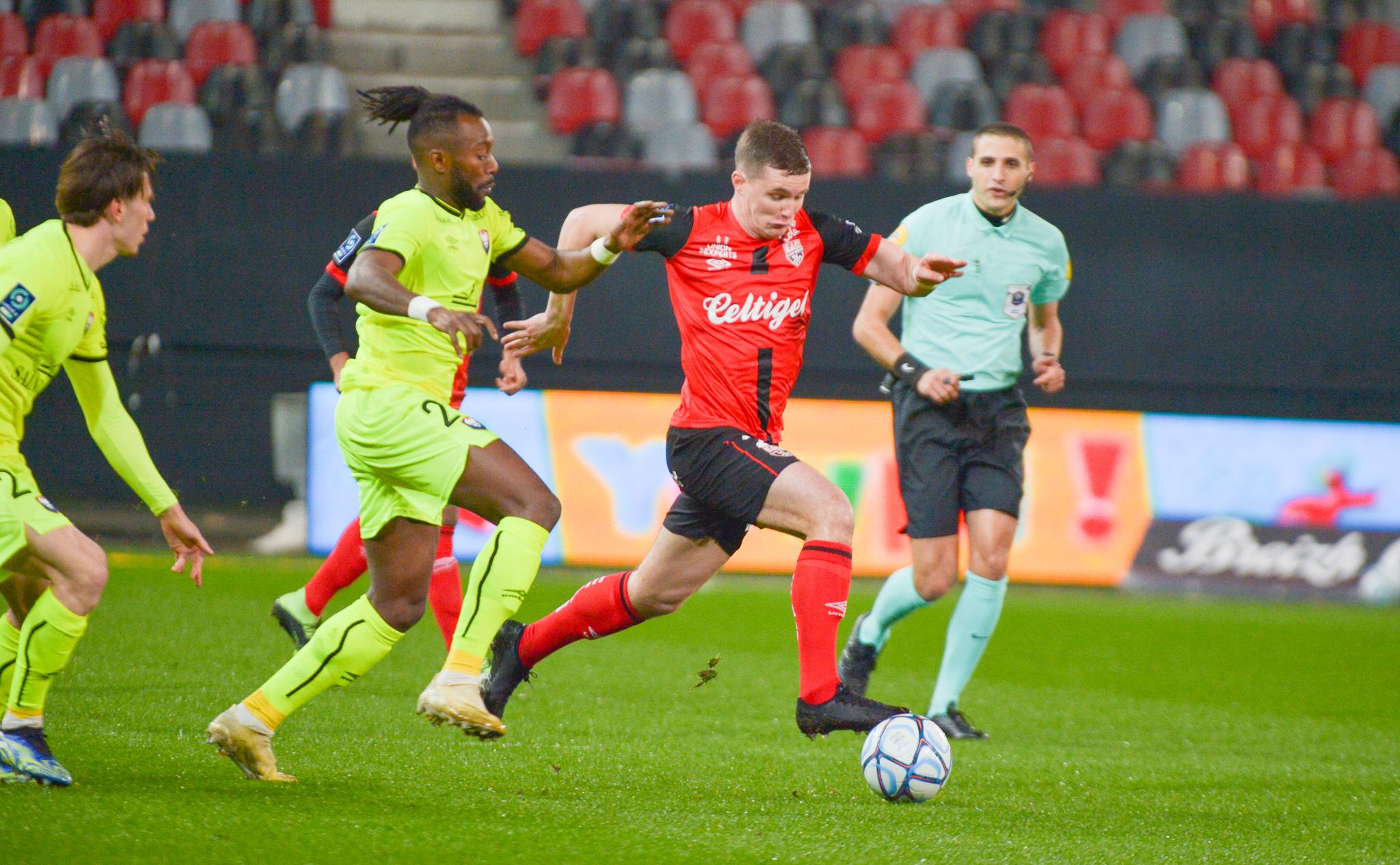 7 EA Guingamp SM Caen 2-2 Ligue 2 BKT Journée 26 2020-21 22 02 2021 EAGSMC