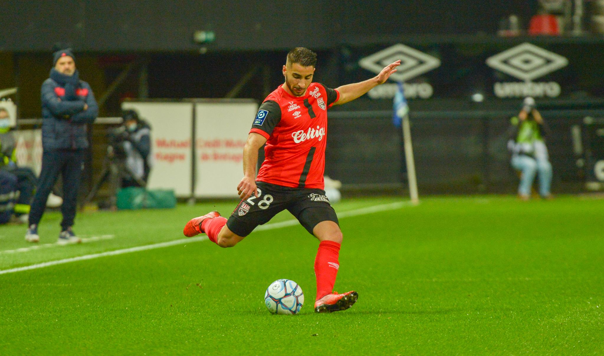 9 EA Guingamp SM Caen 2-2 Ligue 2 BKT Journée 26 2020-21 22 02 2021 EAGSMC